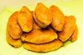 Pirogi pies patty food tasty national kitchen baked Royalty Free Stock Photo