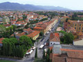 Pisa from above Royalty Free Stock Image
