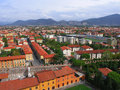 Pisa from above (2) Royalty Free Stock Images