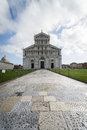 Pisa cathedral facade of the of Royalty Free Stock Photography