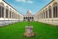 Pisa cemetery Royalty Free Stock Photo