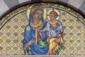 Pisa, mosaic of Santa Caterina church Royalty Free Stock Photography