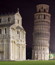 Pisa by night Stock Images