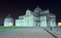 Pisa at night Royalty Free Stock Photo