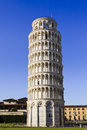 Pisa not leaning tower italy is day time blue sky shot unusual angle nobody Stock Photo
