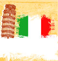 Pisa tower  background Stock Image