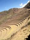 Pisac near cusco Peru Stock Photos