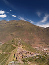 Pisac Ruins Royalty Free Stock Photography