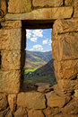 Pisac ruins Royalty Free Stock Photo