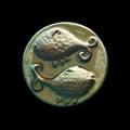Pisces symbol Royalty Free Stock Photo