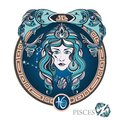 Pisces. Zodiac sign Royalty Free Stock Photo