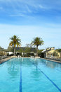 Piscine chez solage calistoga resort dans calistoga la californie Photos stock