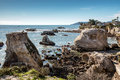 Pismo Beach Rugged Coastline Royalty Free Stock Photo