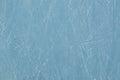 Pista de hielo con los rasguños Foto de archivo