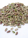Pistachio nut without peel Stock Photography