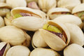Pistachio nuts at on background Royalty Free Stock Photo