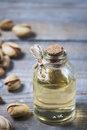 Pistachio oil with nuts.
