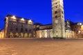 Pistoia - Piazza del Duomo Royalty Free Stock Photo