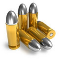 Pistol bullets Royalty Free Stock Image
