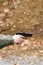 Pistol, Fired