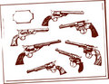 Pistolety Zdjęcia Royalty Free