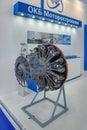 Piston aircraft engine Royalty Free Stock Photo