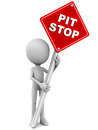 Pit stop Royalty Free Stock Photo