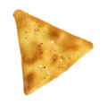 Pita crispy snack cracker Royalty Free Stock Photo