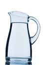 A pitcher of water Stock Image