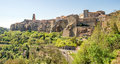Pitigliano -  Grosseto - Tuscany - italy Royalty Free Stock Photo