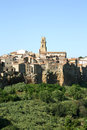 Pitigliano tuscany italy a view of the medieval old town of in the province of grosseto Stock Photo