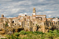 Pitigliano, tuscany village Royalty Free Stock Photos
