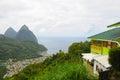 Piton Mountains Royalty Free Stock Photo