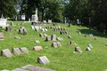 Pittsburgh cemetery Royalty Free Stock Image