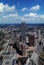 Pittsburgh, PA Skyline - 1983 Stock Image