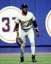 Pittsburgh Pirates outfielder Barry Bonds Royalty Free Stock Photo