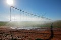 Pivot irrigation Royalty Free Stock Photo