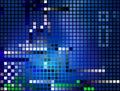 Pixel; Ba decorativo senza giunte Fotografia Stock
