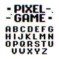 Pixel Game retro style font