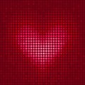 Pixel heart Stock Photos
