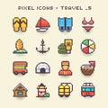 Pixel icons-travel 5