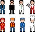 Pixel People - Occupation