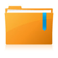 Pixel perfect folder icon older vector illustration for your design Stock Image