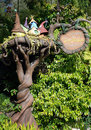 Pixie hollow in disneyland Royalty Free Stock Photos
