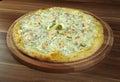 Pizza ai frutti di mare Royalty Free Stock Photo