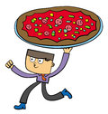 Pizza for business Stock Photography