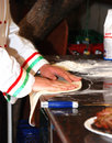 Pizza Chef Stock Photo