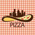 Pizza in the City Logo Vector