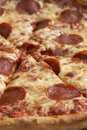 Pizza close Royalty Free Stock Photo