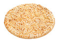 Pizza Crust (with clipping path) Royalty Free Stock Image